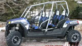 10. ATV Television Test - 2010 Polaris RZR 4 Robby Gordon Edition
