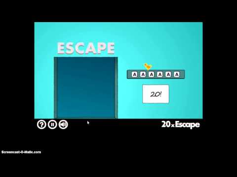 40x Escape Levels 1-35