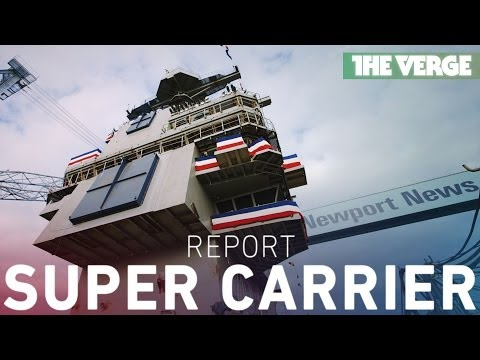 Building the Navy's most advanced aircraft carrier