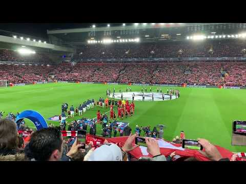 YNWA and Champions League Anthem