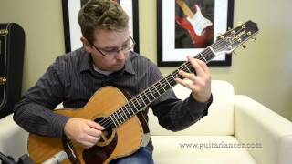 Just Thoughts by Lance Allen Fingerstyle guitarist - YouTube