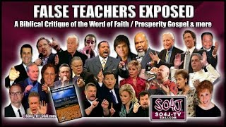 Video FALSE TEACHERS EXPOSED: Word of Faith/Prosperity Gospel | Justin Peters/SO4J-TV MP3, 3GP, MP4, WEBM, AVI, FLV Juli 2019