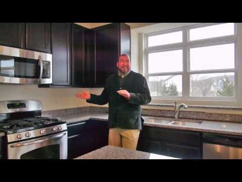 Touring a new-construction home in Minooka