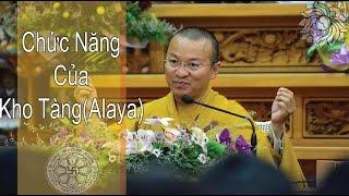 Duy Thức Tam Thập Tụng -04: CHỨC NĂNG CỦA THỨC KHO TÀNG (ALAYA)