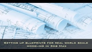 Check out this video to learn how to take a modeling blueprint and set it up to real world scale in 3ds Max.Original Post at: http://www.dkcgi.net/2016/10/31/modeling-faucets-in-3ds-max/