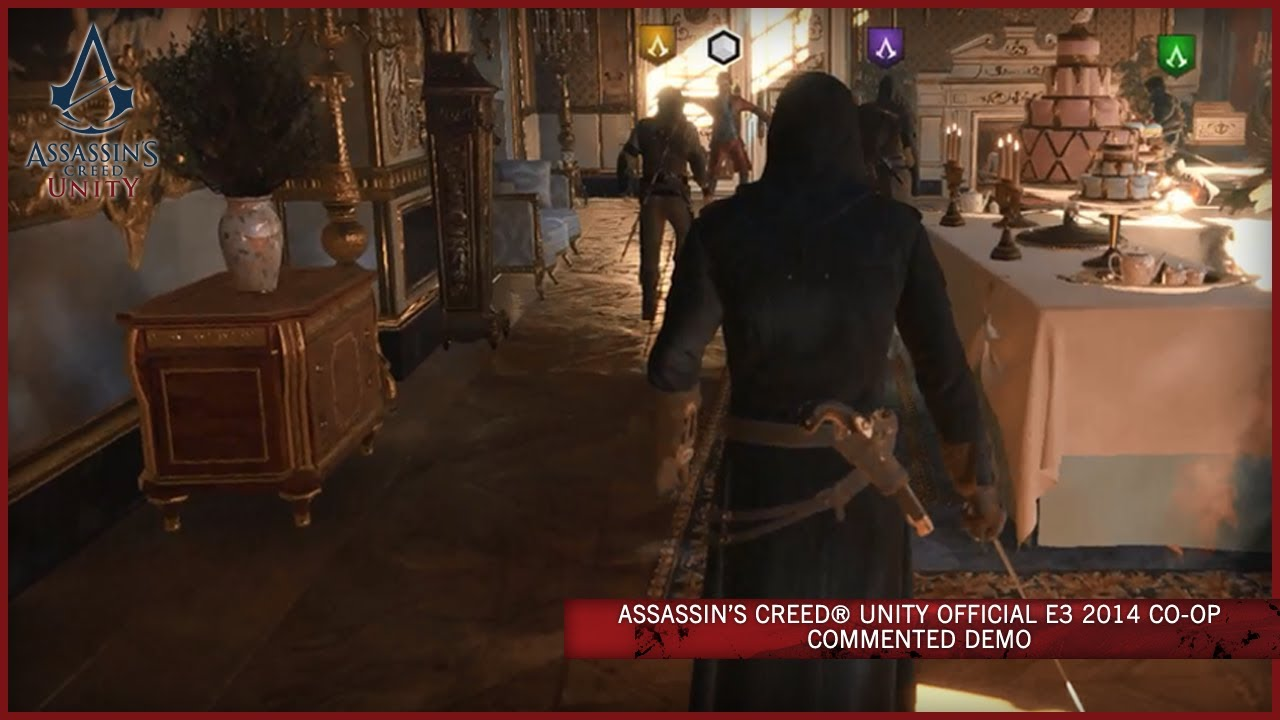 [E3 2014] Assassin's Creed: Unity (Co-Op Gameplay Demo)