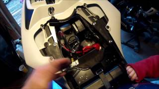 8. 2009 2014 Yamaha YZF R1 battery replacement  2010, 2011, 2012, 2012 R1