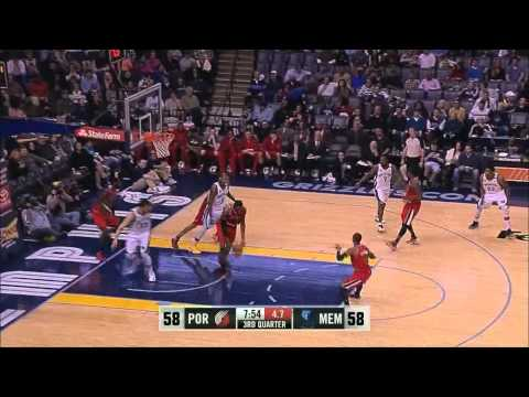 Trail Blazers Top 10 Blocks 2012-13