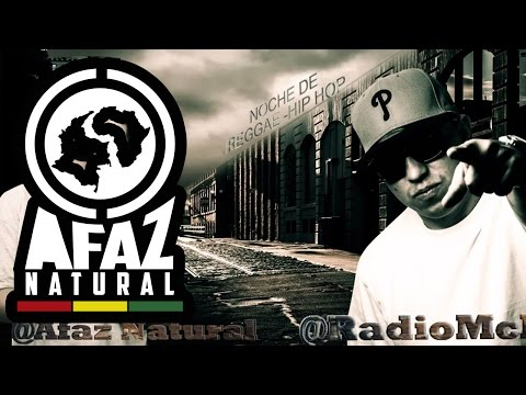 Letra Noche de Reggae Afaz Natural ft Radio MC