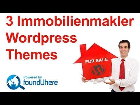 WordPress Immobilien Themes – CMS Homepage für Immobilienmakler