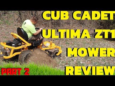 Cub Cadet ULTIMA ZT1 ZT2 Mower...