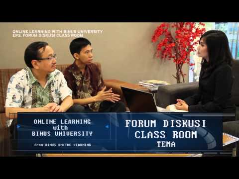 Forum Diskusi Class Room Binus Online Learning