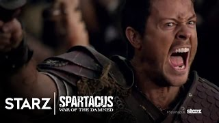 Nonton Spartacus  War Of The Damned   Official Trailer   Starz Film Subtitle Indonesia Streaming Movie Download