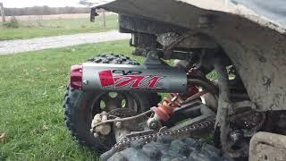 8. Can-am ds 90 x big gun exhaust