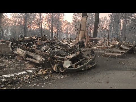 Raw footage of Camp Fire evacuees, devastation in Paradise and abandoned Feather River hospital