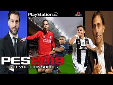 PS2 | Actualización PES 2019 CRYMAX ¡CALLNAMES  MBAPPE , DYBALA , VAN DIJK !