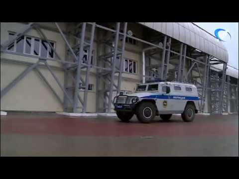 Стадион «Электрон» в Великом Новгороде сегодня был заполнен сотрудниками силовых структур