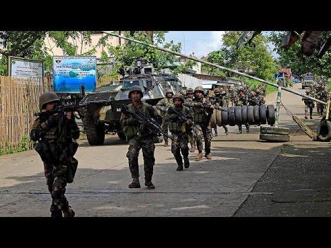 Φιλιππίνες: Μάχες με τζιχαντιστές
