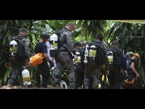 HÖHLENDRAMA in THAILAND: Rettungstaucher kommt tragis ...