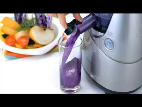 Kuvings silent juicer smart cap demo