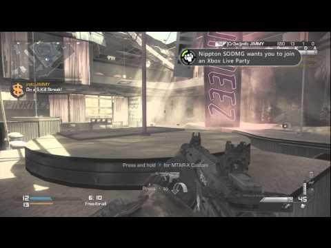 Call Of Duty Ghost Honey Badger...