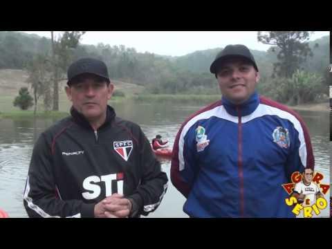 AGORA É SÉRIO AVALIAÇÃO TÉCNICA SÃO PAULO FUTEBOL CLUBE EM JUQUITIBA RIO ABAIXO RAFTING