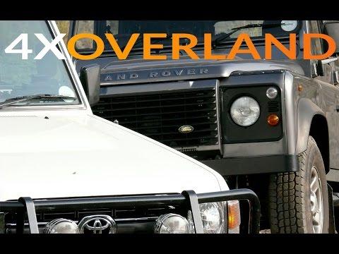 land rover vs toyota land cruiser che overland land. Black Bedroom Furniture Sets. Home Design Ideas