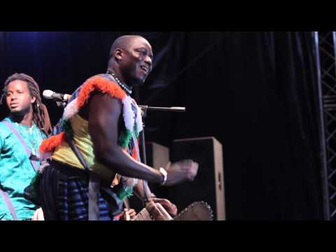 Jalikunda at Montserrat African Festival 2013: Sidiki's mesmerising djembe drum solo