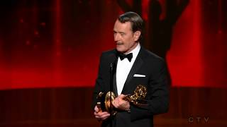 Bryan Cranston wins an Emmy for