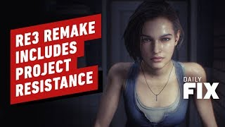 Resident Evil 3 Remake Reveals Project Resistance Multiplayer Mode - IGN Daily Fix by IGN