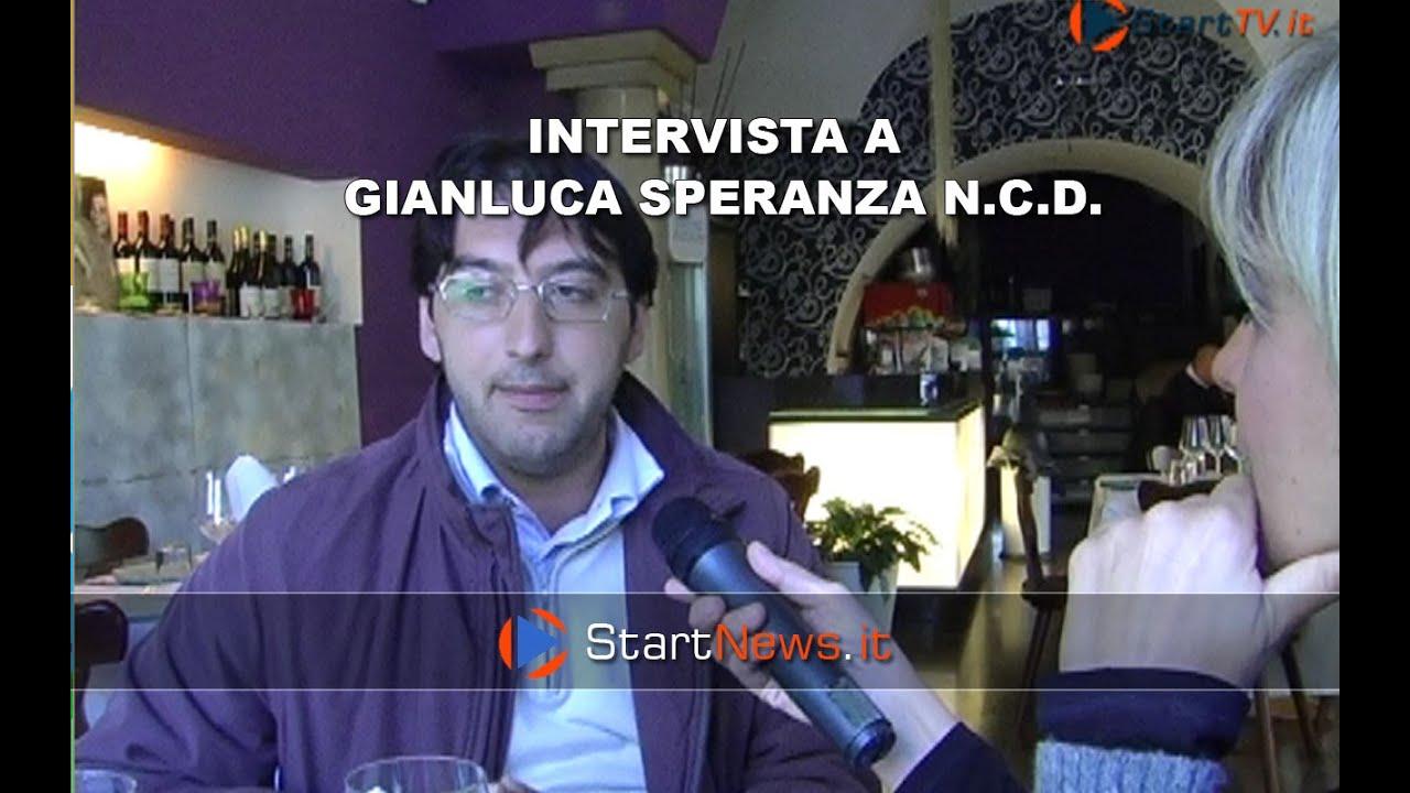 NCD – INTERVISTA A GIANCLUCA SPERANZA [VIDEO]