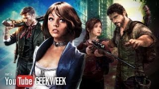 Game of the Year Watch: Last of Us Vs. Bioshock Infinite - YouTube Geek Week
