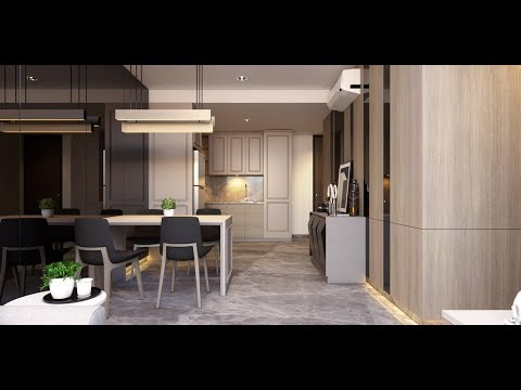 Tutorial Vray Next For Sketchup Interior Apartment (Free 3D Model)