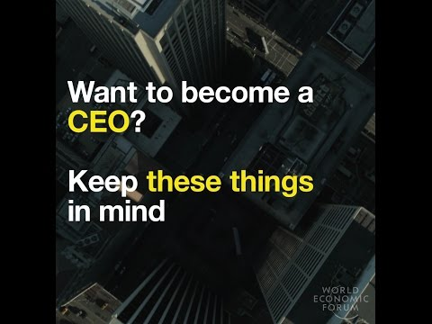 Want to become a CEO?