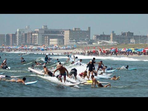 NEW YORK CITY 2018: THE ROCKAWAY BEACH! [4K]