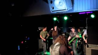 Video NEVER LEFT BEHIND supports EKTOMORF (Retribution Tour 2014)