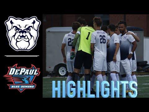 #20 Butler Men's Soccer (HOME) - 2 vs DePaul - 0 (BIG EAST 10.14.17)
