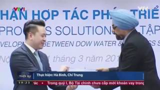 Ngày 31/3/2017, tại Hà Nội đã diễn ra lễ công bố chứng nhận hợp tác phát triển sản phẩm giữa Tập đoàn Tân Á Đại Thành và Tập đoàn Dow Water & Process Solutions (Mỹ). Mục đích của việc hợp tác là phát triển các dòng sản phẩm Máy lọc nước R.O cao cấp, có công nghệ lọc nước tối ưu theo từng nguồn nước, giúp mang đến nguồn nước sạch an toàn theo đúng tiêu chuẩn quốc tế. Trong buổi lễ này, hai Tập đoàn đã công bố mẫu tem chống hàng giả gắn trên màng lọc và bao bì đựng màng lọc R.O.