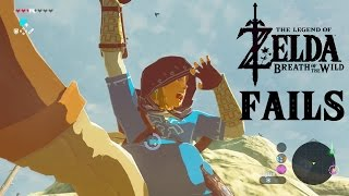 Legend of Zelda: Breath of the Wild FAILS