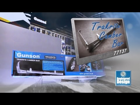 Gunson Trakrite Camber Bar and Camber Gauges range