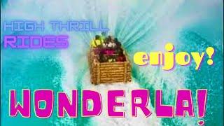 Video Amazing High Thrill Rides - Wonderla Amusement Park -Bangalore, India *HD* MP3, 3GP, MP4, WEBM, AVI, FLV Juli 2018