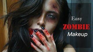 Nonton Easy Zombie Makeup Using Makeup Geek Shadows   Melissa Alatorre Film Subtitle Indonesia Streaming Movie Download