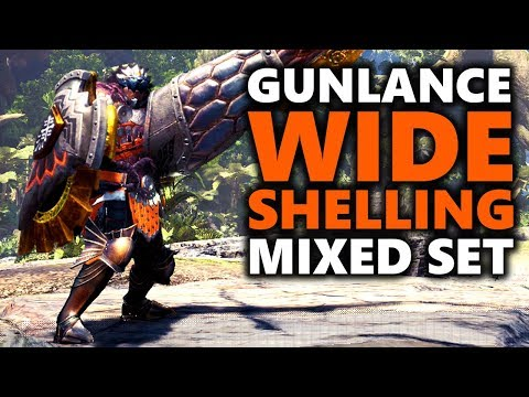 GUNLANCE WIDE SHELLING BUILD - Facebuster - Monster Hunter World