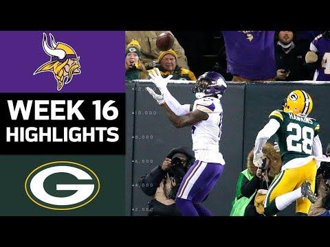 Video: Vikings vs. Packers | NFL Week 16 Game Highlights