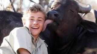 Boy Makes Friends With Killer Buffaloes- Luke Michaelides