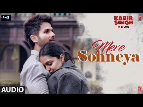 FULL AUDIO:Mere Sohneya | Kabir Singh | Shahid K, Kiara A, Sandeep V | Sachet - Parampara | Irshad K