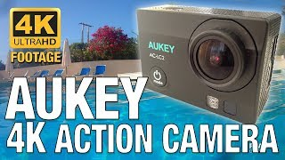 Aukey AC-LC2 4K Action Camera overview/review, with 4k footage. Underwater footage,  must popular resolutions shown, 4k, 2.7k, 1080p 60fps and 720p 120fps. Plus App overview. A good budget action camera in my option. This video was uploaded in 4k.Hope you like the video! Thanks for watching!_____Video uploaded by me to my channel 'Ryaniwk' - You have no right to copy and re-use this video without mentioning the channel URL and name on the video player._____DISCLAIMER:This is not a paid video. This action camera can be found on eBay, Amazon, etc._____YOUTUBE LINK:https://youtu.be/pu4OrMfPk2M_____MUSIC: Wandering  YouTube Audio LibraryKEYWORDS:Aukey Aukey action cameraaukey action camera 4k4k videoaction camera 4kaction camera reviewbudget action camerabudget action camera 2017gopro killeraction camera reviewbudget cameraAukey 4Kbudget cam reviewbudget 4k cameraamazon camerawifi camera