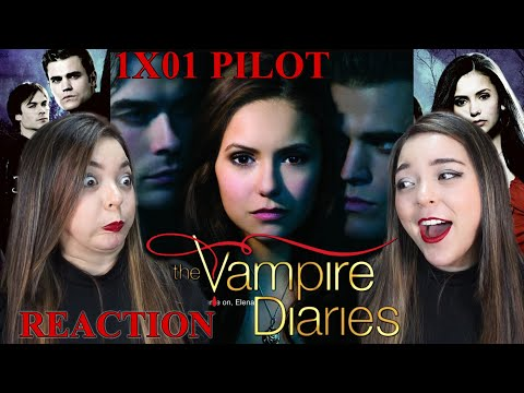 Watching THE VAMPIRE DIARIES for the First Time  (1X01 REACTION)