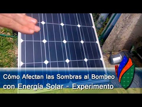 Cómo Afectan Las Sombras a Los Paneles Solares