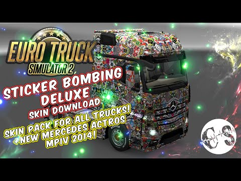 Sticker Bombing Deluxe Skin Pack for All Trucks